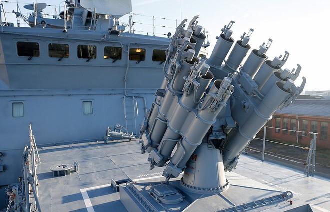 Tàu chiến Nga diệt tàu ngầm địch ngoài khơi Syria: Luyện tập phòng tình huống bất trắc - Ảnh 1.