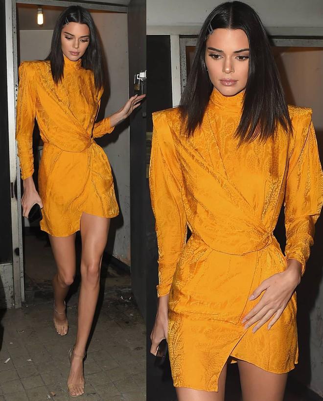Góc nghiêng thần thánh của Kendall Jenner: Sống mũi cao vút, mắt to mi dài đẹp như búp bê - Ảnh 6.