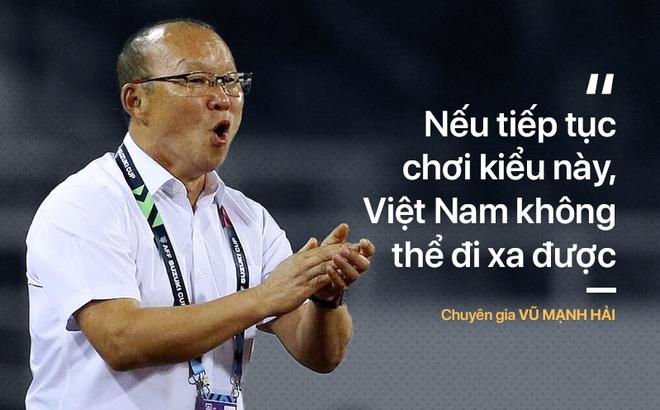 ĐT Việt Nam xấu xí, Quang Hải kém cỏi, U23 ăn may... chẳng phải là điều HLV Park cần sao?