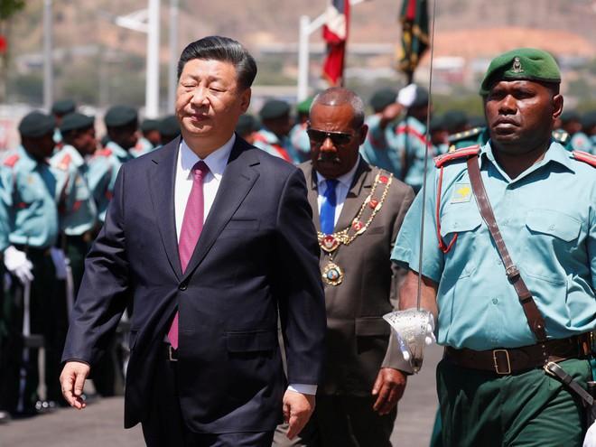 Ông Tập Cận Bình thăm nước chủ nhà APEC 2018: Một hành động bất thường đã xảy ra - Ảnh 9.