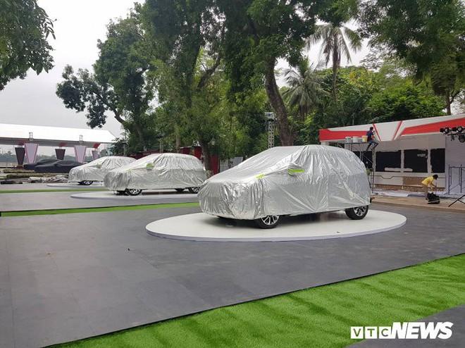 Hình ảnh mới nhất của ô tô VinFast tại Hà Nội chuẩn bị ra mắt ngày mai  - Ảnh 3.