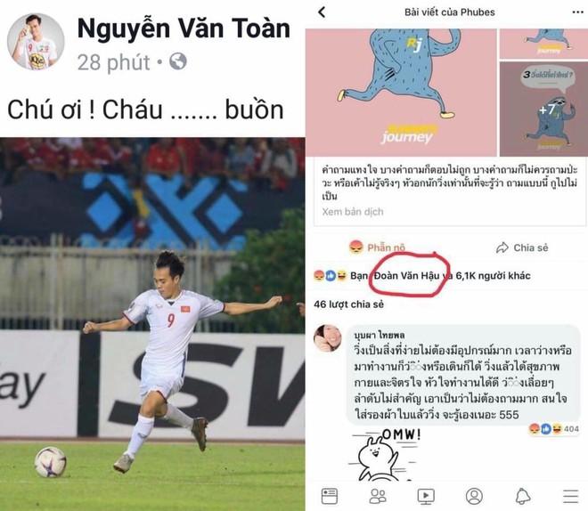 Sau trận gặp Myanmar, Trọng Toàn than buồn, Văn Hậu lặng lẽ vào facebook trọng tài biên thả like bài cũ - Ảnh 4.