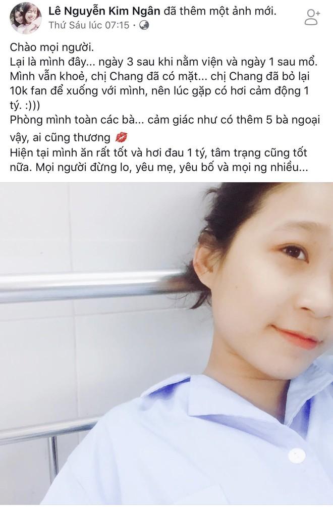 Cô gái 22 tuổi bị u phổi: Bệnh tật không có gì đáng sợ cả, sợ nhất nước mắt bố mẹ thôi - Ảnh 5.