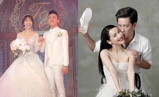 Điểm chung ít ai biết của vợ 2 danh hài nổi tiếng nhất showbiz Việt: Trường Giang - Trấn Thành - Ảnh 1.