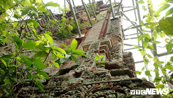 Mang sắt thép quây chằng chịt chống đỡ phật viện lớn nhất Đông Nam Á - Ảnh 11.