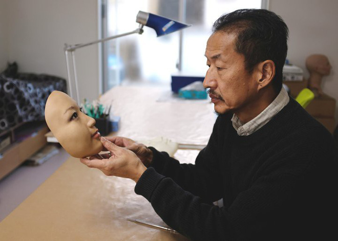 Những chiếc mặt nạ 3D chân thực đến đáng sợ đến từ Nhật Bản, nhìn xong có khi không dám ngủ - Ảnh 2.