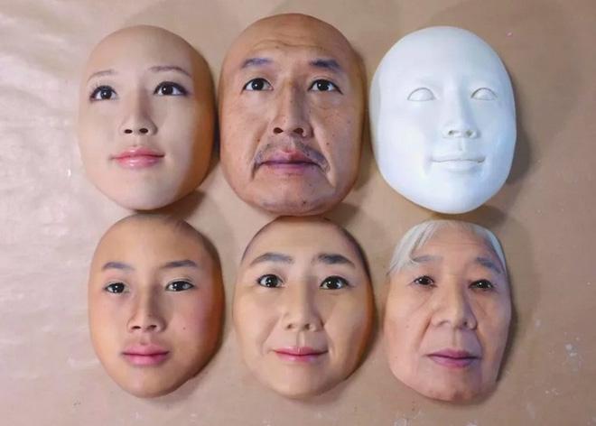 Những chiếc mặt nạ 3D chân thực đến đáng sợ đến từ Nhật Bản, nhìn xong có khi không dám ngủ - Ảnh 5.