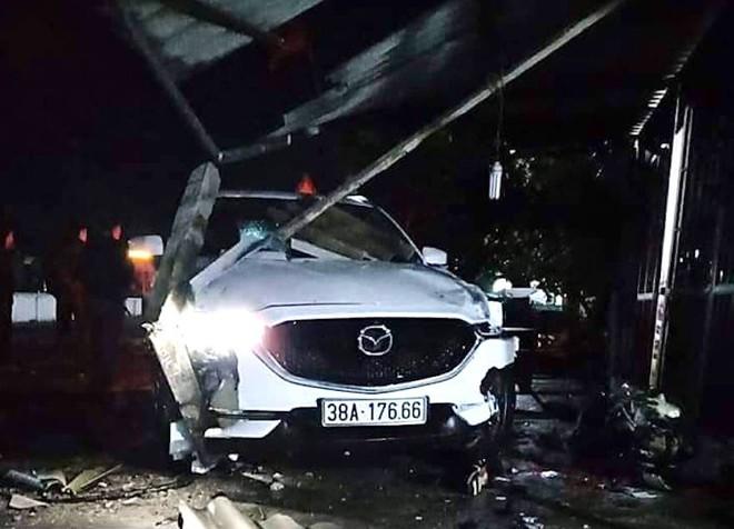 Phó phòng huyện lái ô tô tông chết người đàn ông - Ảnh 1.