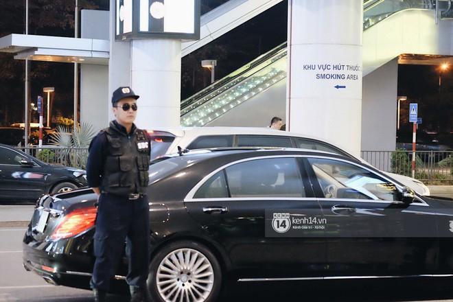 Nữ thần sắc đẹp xứ Hàn Kim Tae Hee đẹp rạng rỡ, được cả đội vệ sĩ hùng hậu hộ tống tại sân bay Nội Bài - Ảnh 2.