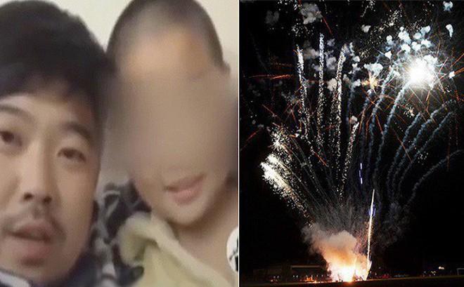 Trung Quốc: Ông bố mua thùng pháo hoa về đốt tưng bừng để thưởng cho con trai, lý do khiến nhiều phụ huynh sửng sốt