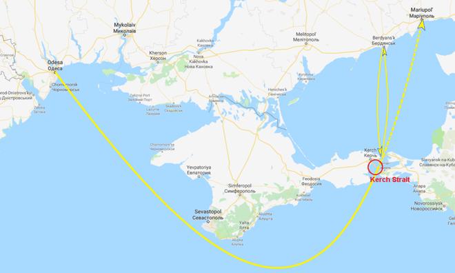 Đối đầu hải quân Nga-Ukraine: Máy bay Su-25, trực thăng KA-52 xuất kích, tàu chiến nã đạn - Ảnh 2.