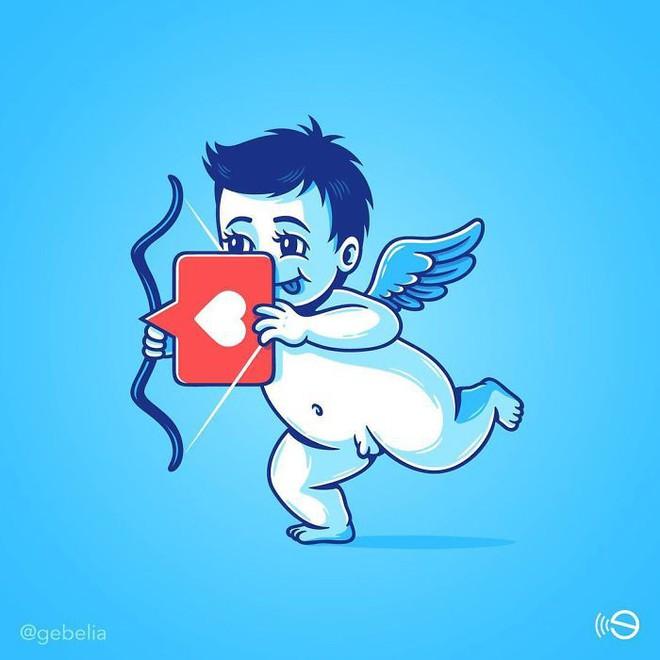 Tranh biếm họa về thói quen dùng mạng xã hội của con người - Ảnh 5.
