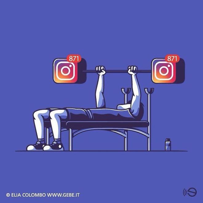 Tranh biếm họa về thói quen dùng mạng xã hội của con người - Ảnh 7.