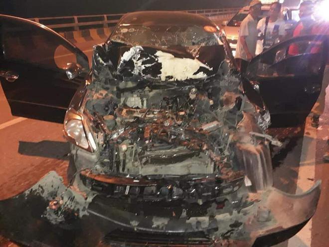 Khoảnh khắc tài xế livestream trước vụ đâm xe kinh hoàng, hiện trường khiến số đông ám ảnh - Ảnh 1.