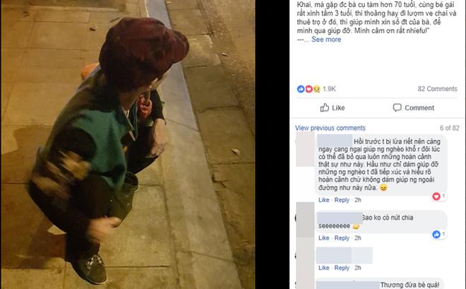 2 bà cháu đi xin đồ từ thiện về khuya không bắt được xe, hành động bất ngờ của đôi bạn trẻ và anh xe ôm công nghệ khiến nhiều người ấm lòng