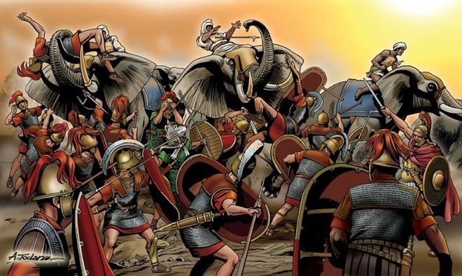 Thất bại thảm hại tại trận Zama, thiên tài quân sự Hannibal nướng hết 40.000 quân - Ảnh 7.