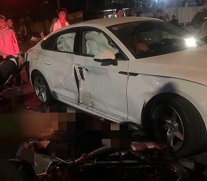 Tai nạn nghiêm trọng giữa Audi Q5 và 2 xe máy: Cô gái 18 tuổi thiệt mạng khi sắp đi du học - Ảnh 1.
