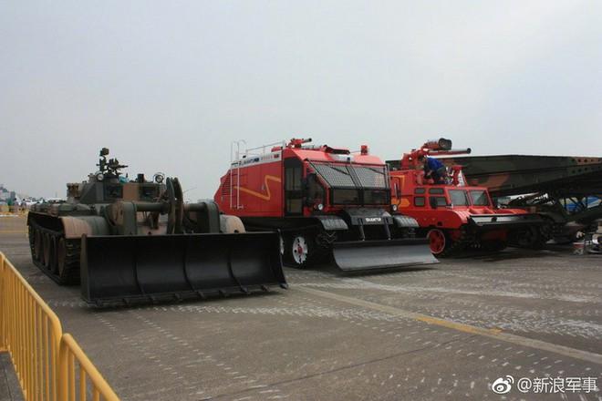 Hoa mắt trước gia đình xe tăng Type 59 nâng cấp tại Zhuhai Airshow 2018 - Ảnh 6.