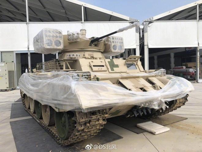 Hoa mắt trước gia đình xe tăng Type 59 nâng cấp tại Zhuhai Airshow 2018 - Ảnh 4.