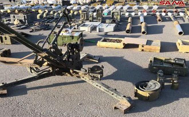 Một lượng vũ khí lớn ở Daraa lại về tay quân đội Syria