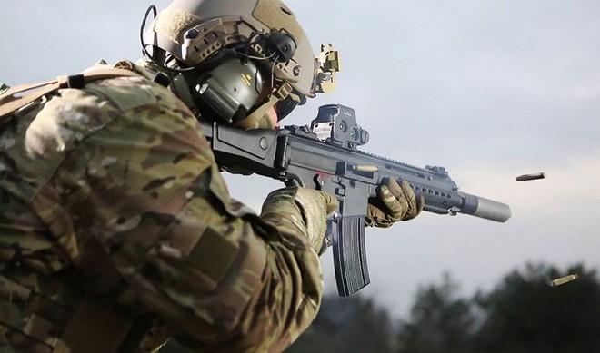 Ảnh: Mổ xẻ sức mạnh súng trường tấn công HK433 của Đức - Ảnh 1.