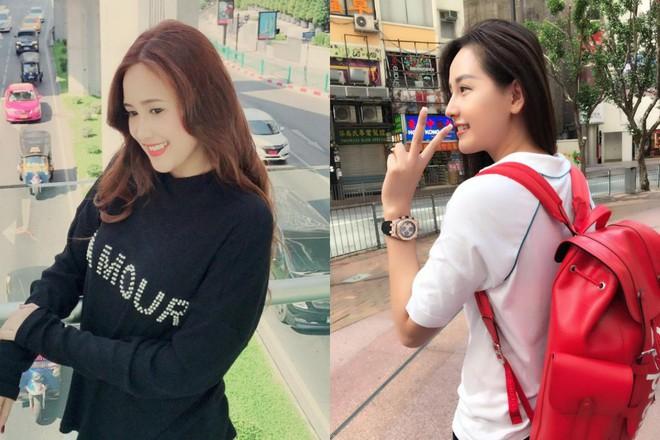 """Hoa hậu Mai Phương Thúy và Phương Hằng """"Gạo nếp gạo tẻ"""" giống nhau như chị em một nhà - Ảnh 5."""