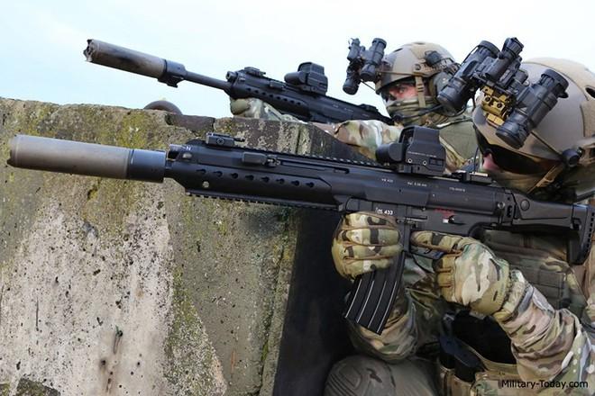 Ảnh: Mổ xẻ sức mạnh súng trường tấn công HK433 của Đức - Ảnh 7.