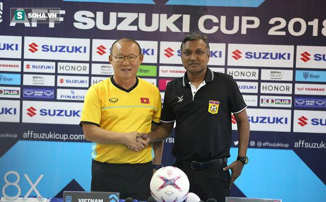 """HLV Park Hang-seo sợ khó thắng, thuyền trưởng Lào """"ôm mộng"""" có 3 điểm trước Việt Nam"""