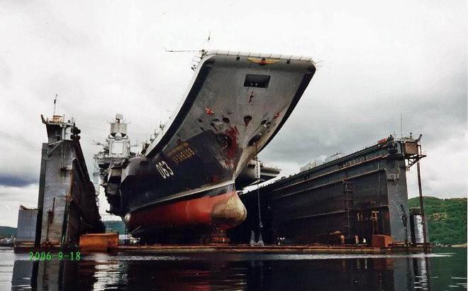 Tàu Kuznetsov gặp thảm họa, tuy không chìm nhưng lại giáng xuống Hải quân Nga đòn đau nhất