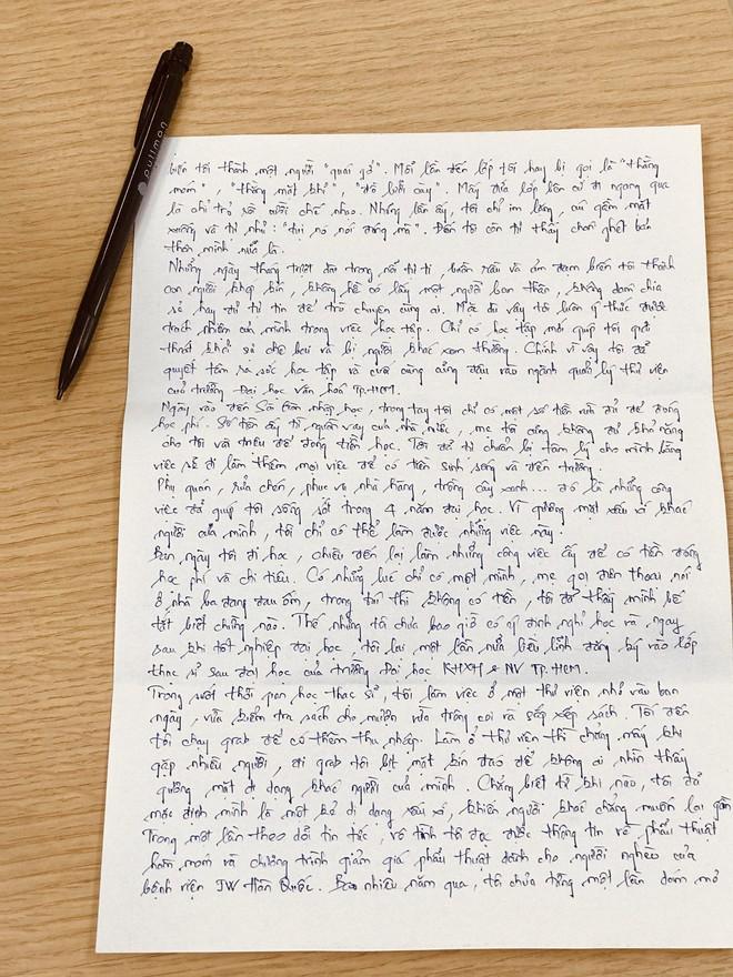 Xôn xao bức tâm thư và điều kì diệu dành cho thạc sĩ xe ôm - Ảnh 4.