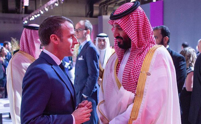 TT Pháp và Thái tử Ả Rập Saudi lộ cuộc trao đổi riêng căng thẳng: Người dằn mặt, kẻ trấn an