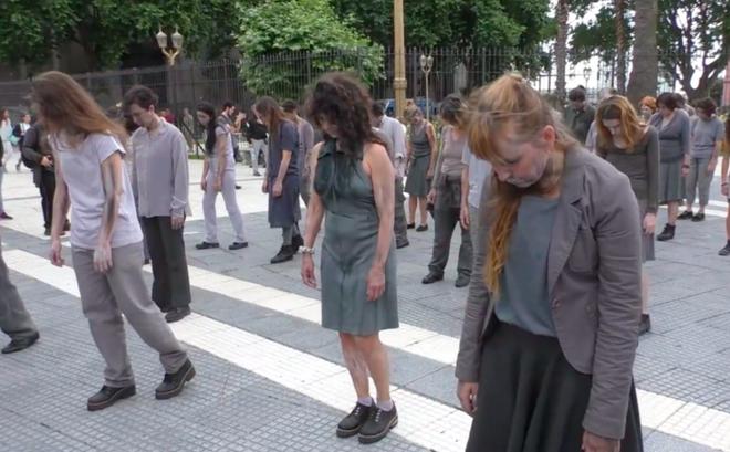 Biểu tình 'xác sống' tại Argentina phản đối hội nghị thượng đỉnh G20