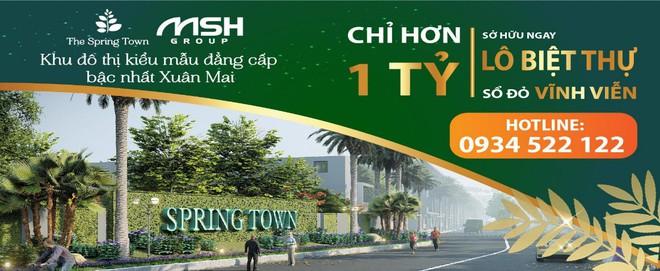 Ra mắt khu đô thị khép kín đẳng cấp The Spring Town tại Xuân Mai - Ảnh 2.