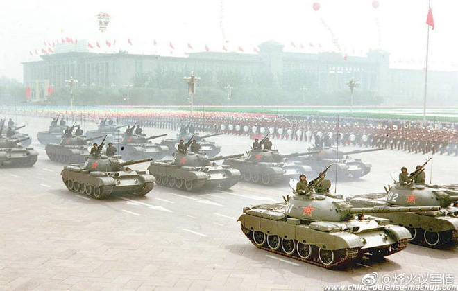 Ngạc nhiên trước hình ảnh Quân đội Trung Quốc cách đây hơn 3 thập kỷ - Ảnh 2.