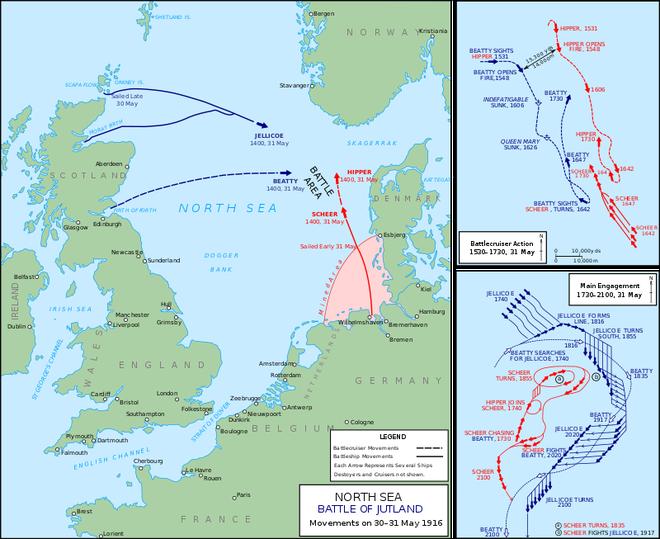 Trận hải chiến đẫm máu Anh - Đức: Cuộc đối đầu ác liệt của thiết giáp hạm - Ảnh 3.