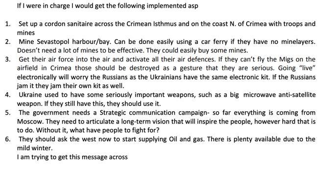 Lộ kế hoạch đặt mìn hiểm ác được gửi cho Ukraine giữa cao trào khủng hoảng Crimea - Ảnh 1.
