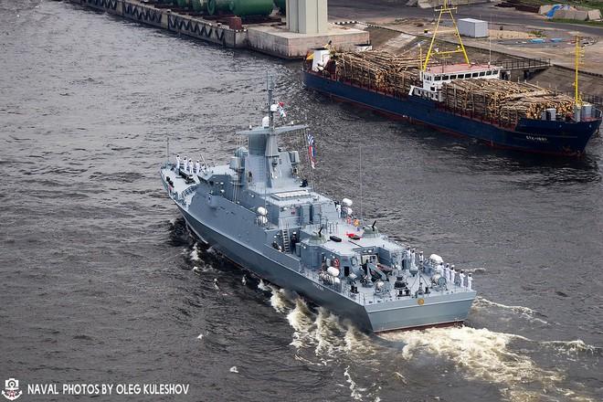 Chiến hạm tàng hình cỡ nhỏ mạnh nhất của Nga được trang bị vũ khí mới - Ảnh 1.