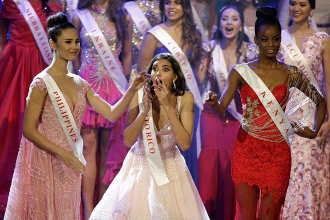 Trả thù 10 năm chưa muộn: Hoa hậu Philippines từng khóc vì thua Puerto Rico tại Miss World, nay tình thế đảo ngược - Ảnh 1.