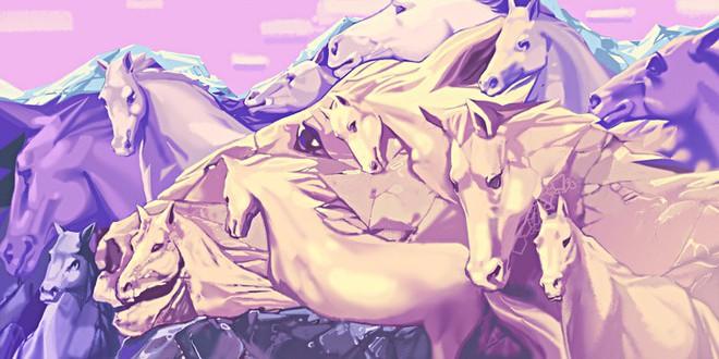 Số ngựa thấy trong tranh sẽ định đoạt bạn có phải lãnh đạo tài giỏi bẩm sinh hay không - Ảnh 1.