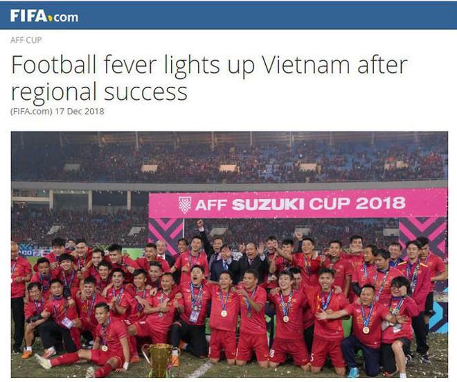 FIFA: 'Thời hoàng kim của bóng đá Việt Nam đang đến' - Ảnh 1.
