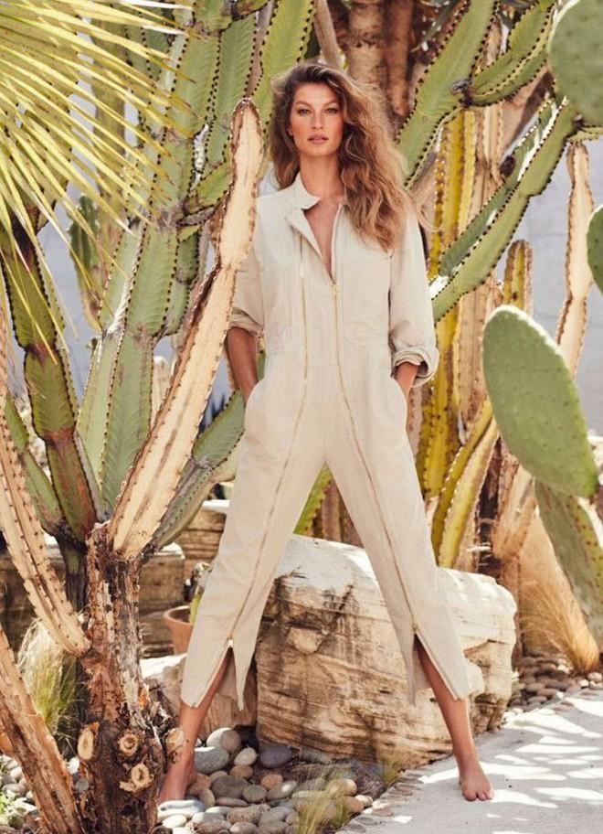 Siêu mẫu đắt giá Gisele Bundchen khoe dáng tuyệt mỹ trên tạp chí - Ảnh 2.