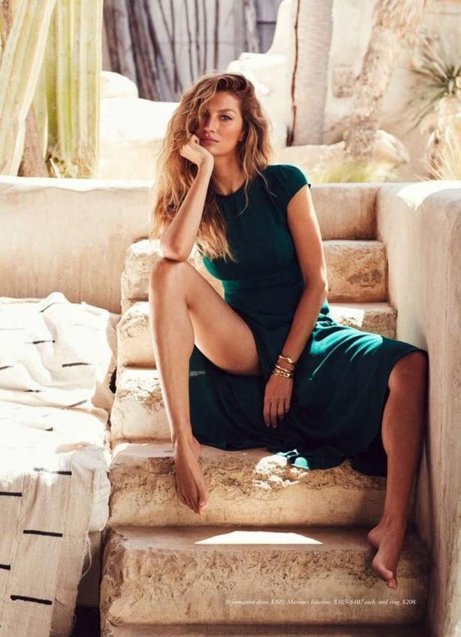 Siêu mẫu đắt giá Gisele Bundchen khoe dáng tuyệt mỹ trên tạp chí - Ảnh 6.