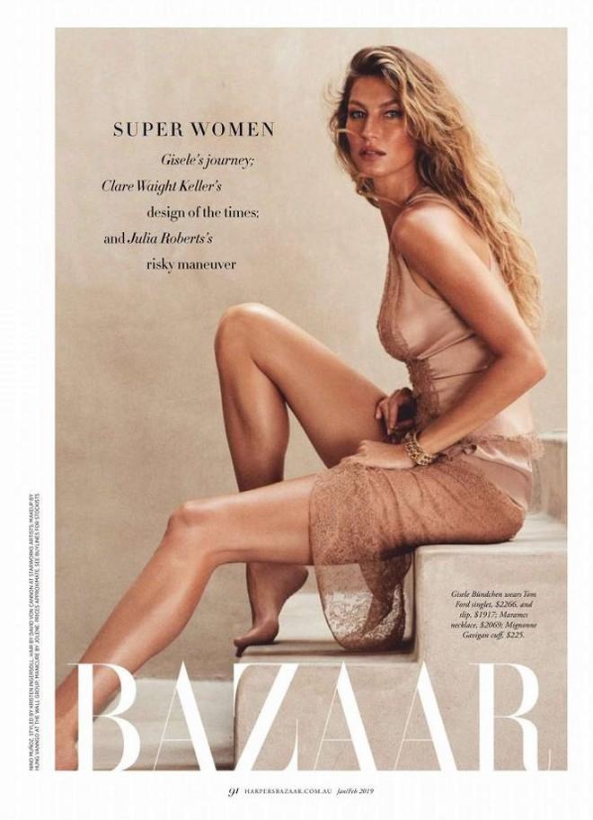 Siêu mẫu đắt giá Gisele Bundchen khoe dáng tuyệt mỹ trên tạp chí - Ảnh 9.