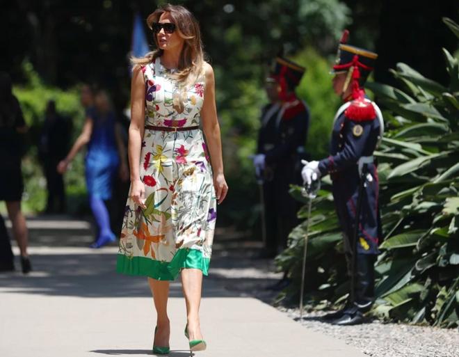 """Nóng cuộc """"đối đầu"""" thời trang của Đệ nhất Phu nhân Mỹ-Trung tại G20 - Ảnh 1."""