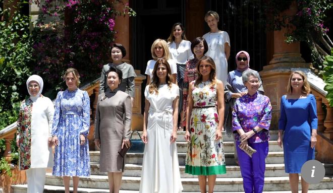 """Nóng cuộc """"đối đầu"""" thời trang của Đệ nhất Phu nhân Mỹ-Trung tại G20 - Ảnh 2."""