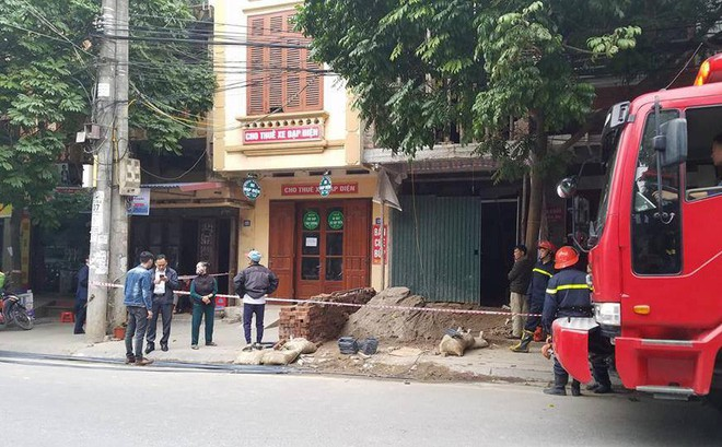 Đang thi công nhà, hai người đàn ông bị điện giật thương vong ở Thái Nguyên