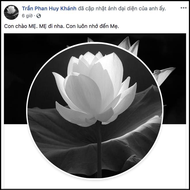 Dàn sao Việt gửi lời chia buồn khi nghe tin mẹ diễn viên Huy Khánh qua đời - Ảnh 1.