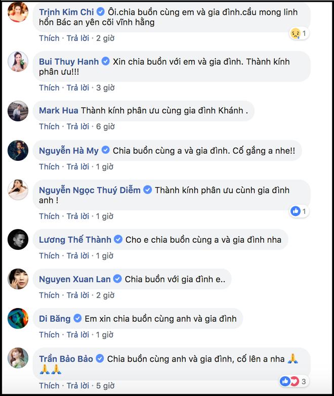 Dàn sao Việt gửi lời chia buồn khi nghe tin mẹ diễn viên Huy Khánh qua đời - Ảnh 2.