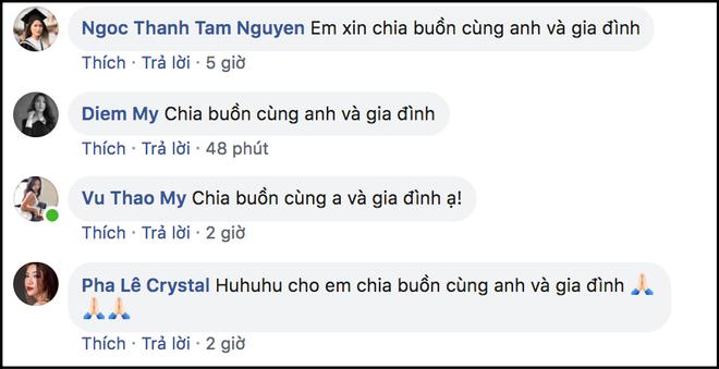 Dàn sao Việt gửi lời chia buồn khi nghe tin mẹ diễn viên Huy Khánh qua đời - Ảnh 3.