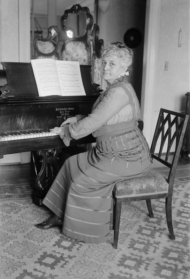 Google vinh danh Teresa Carreño, Nữ thần Piano, 2 lần đến Nhà Trắng đàn cho tổng thống - Ảnh 5.
